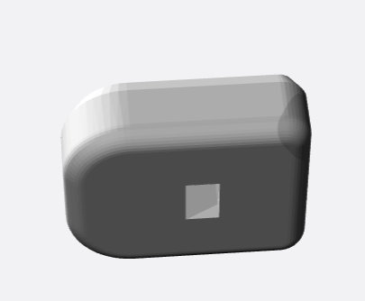 Base plate for Sig P320X5 Square Insert (Black Nylon)